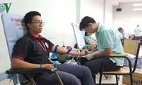 Le don de sang à l'approche du Nouvel An lunaire