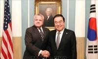 Séoul et Washington réaffirment l'engagement à réaliser la dénucléarisation complète de la RPDC