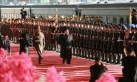 Le déplacement de Kim Jong-un au Vietnam couvert par les médias nord-coréens