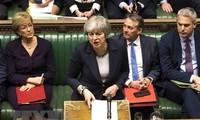 Brexit: Theresa May s'efforce de convaincre les députés de voter son accord