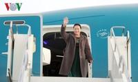Nguyên Thi Kim Ngân se rend à Doha