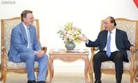 Nguyên Xuân Phuc reçoit le gouverneur du land de Thuringe