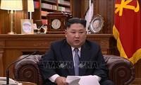 """RPDC: Kim Jong-un veut porter """"un coup décisif"""" aux partisans des sanctions"""