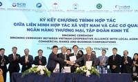 Vuong Dinh Huê au forum juridique des coopératives d'Asie-Pacifique
