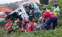 Portugal : au moins 28 morts, dont des touristes allemands, dans l'accident d'un bus à Madère