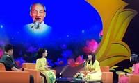 Rencontre entre les figures exemplaires du mouvement «Etudier et suivre l'exemple moral du président Hô Chi Minh»
