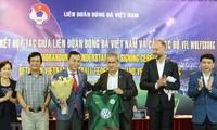 Collaboration Vietnam-Allemagne en football