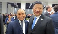 Rencontres de Nguyên Xuân Phuc en marge du sommet du G20
