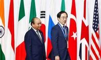 Activités de Nguyên Xuân Phuc au sommet du G20