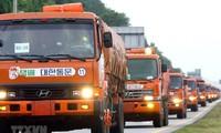 Aide alimentaire : Séoul assume ses promesses avec Pyongyang