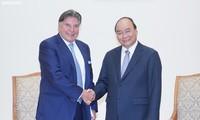 Le Premier ministre invite TTI à investir à Da Nang, Hanoï et Ho Chi Minh-ville