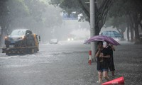 Chine: 28 morts après le passage du typhon Lekima