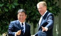 G7: Trump et Abe concluent un accord de principe sur le traité de libre-échange
