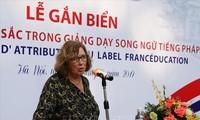 Catherine Deroche: Le Vietnam est le pilier de la Francophonie en Asie