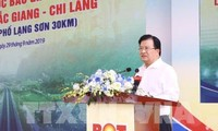 Inauguration de l'autoroute Bắc Giang - Chi Lang