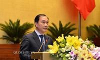 L'Assemblée nationale travaille sur le projet de loi sur les bourses de valeurs