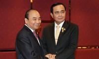 Rencontres de Nguyên Xuân Phuc en marge du 35e sommet de l'ASEAN