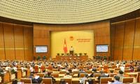 L'Assemblée nationale discute de la promulgation des textes normatifs judiriques
