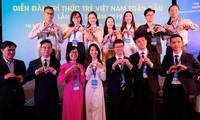 Clôture du 2e forum des jeunes intellectuels vietnamiens