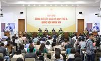 Conférence de presse sur la 8e session de l'Assemblée nationale, 14e législature