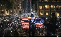 Donald Trump soutient les manifestants pro-démocratie de Hong Kong