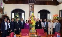 Truong Thi Mai présente ses vœux de Noël aux chrétiens de Da Nang