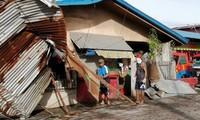 Philipines: le Noël de milliers d'habitants bouleversé par le typhon Phanfone