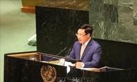 Pham Binh Minh préside un débat ouvert du conseil de sécurité de l'ONU