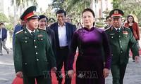 Nguyên Thi Kim Ngân présente ses vœux de Têt au commandement militaire de Dak Lak