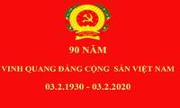 90 ans du Parti communiste vietnamien: messages de félicitation