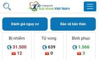 Application: «Santé Vietnam», informez-vous sur le coronavirus