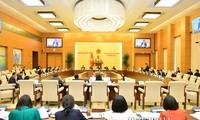 Le comité permanent de l'Assemblée nationale clôture sa 42e session