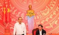 Truong Hoa Binh: Dak Lak a intérêt à développer une économie verte
