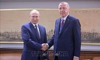 Syrie: Erdogan et Poutine vont se rencontrer jeudi en Russie