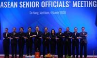 Réunion des hauts officiels de l'ASEAN 2020 à Dà Nang