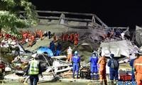 Chine: un hôtel lieu de quarantaine s'effondre, 6 morts