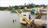 Baisse de la salinisation dans le delta du Mékong