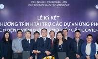 Covid-19: Vingroup offre 100 milliards de dongs
