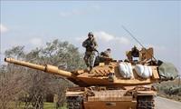 L'armée turque continue d'envoyer des engins militaires en Syrie