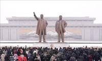 Coronavirus: Pyongyang célèbre plus discrètement la naissance de Kim Il-sung