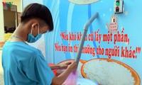 Lettre de Dang Thi Ngoc Thinh au créateur de l'ATM riz