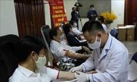 Covid-19: Collecte de sang par l'Union des agriculteurs vietnamiens