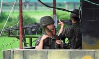 Échanges de tirs entre les deux Corées
