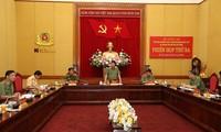 Troisième réunion de la sous-commission sur la sécurité des congrès du Parti