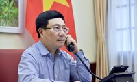 Entretien Pham Binh Minh - Sergei Lavrov