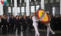 Cérémonie funéraire de Vu Mao ce mercredi