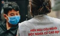 Hanoï : collecte de près de 14 000 unités de sang en un an