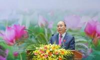 Nguyên Xuân Phuc au 10e Congrès d'émulation des forces armées