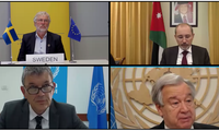 Le chef de l'ONU exhorte Israël à renoncer à annexer une partie de la Cisjordanie