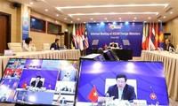 ASEAN: Visioconférences des ministres des Affaires étrangères